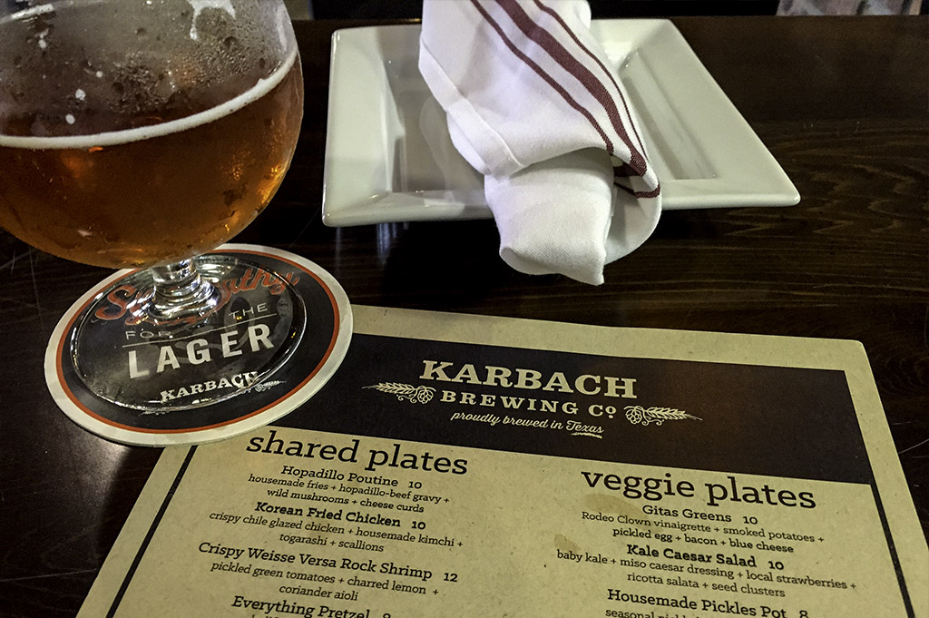 Karbach Brewing Company Good Eats Local Mike Puckett DDM