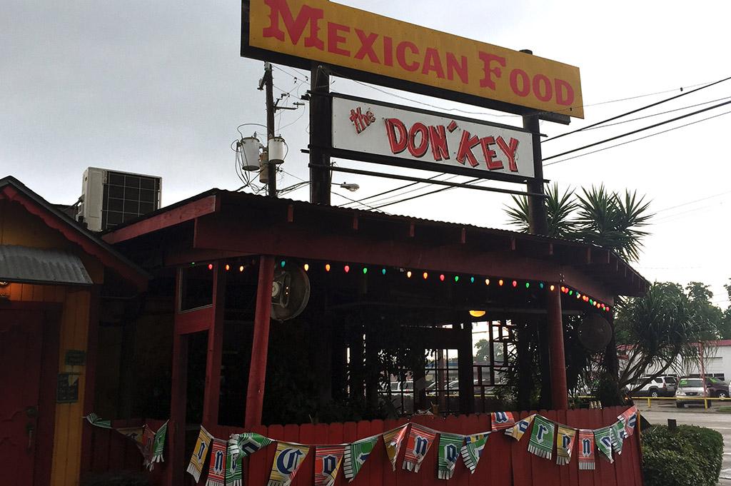 The Don Key Mexican Food Good Eats Houston