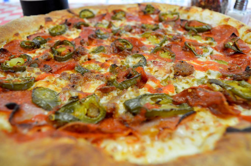 Jackpot Pizza Good Eats Houston Texas Local Mike Puckett Photography SW-18
